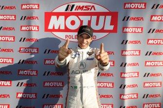 Pole Award #7 Acura Team Penske Acura DPi, DPi: Helio Castroneves