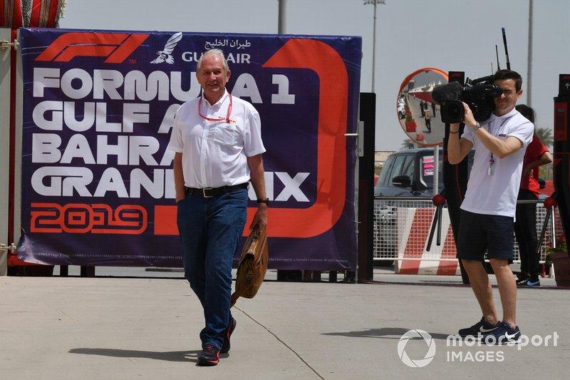 Helmut Marko, consultor de Red Bull Racing