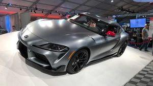 La première Toyota Supra 2020 mise aux enchères