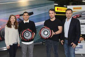 Ayhancan Güven, Salih Yoluç, Mauro Soatto, Pirelli Motorsport Türkiye Direktörü