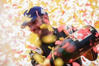 Jean-Eric Vergne, DS TECHEETAH, celebra la victoria