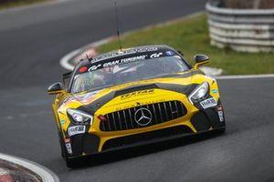 #152 Black Falcon Team KNUFFI Mercedes-AMG GT4: Christoph Hoffmann, Axel König, Norbert Schneider