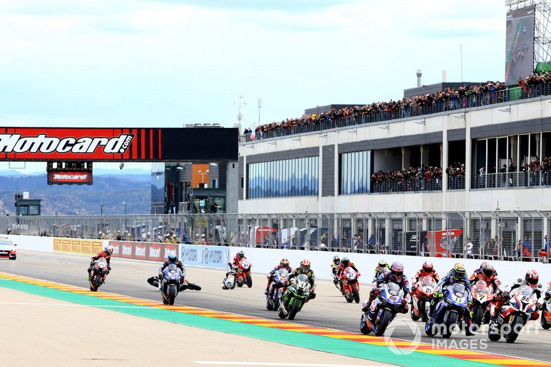 Markus Reiterberger, BMW Motorrad WorldSBK Team quasi investito da Ryuichi Kiyonari, Honda WSBK Team