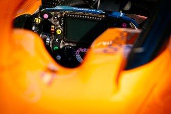 Le volant de la McLaren MCL34