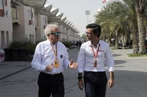 Charlie Whiting with Diego Mejía, Chief Editor of Motorsport.com Latam Edition