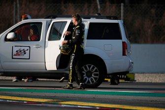 Остановка на трассе: Нико Хюлькенберг, Renault Sport F1 Team