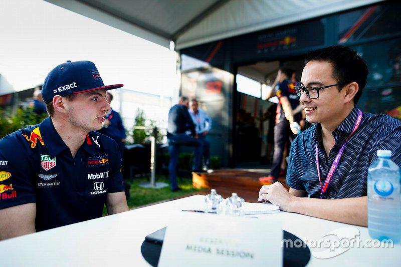 Entrevista con Max Verstappen