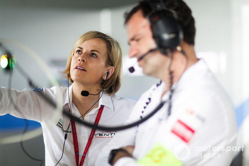 Сюзи Вольф, руководитель команды Venturi Formula E