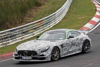 2020 Mercedes-AMG GT Black Series spy shot