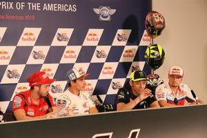 Valentino Rossi, Yamaha Factory Racing, basın toplantısında