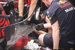 Red Bull Racing RB15, dettaglio del fondo