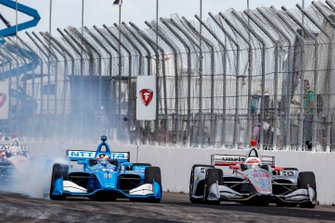 Felix Rosenqvist, Chip Ganassi Racing Honda ve Will Power, Team Penske Chevrolet