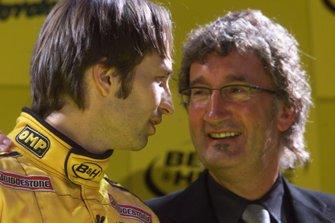 Heinz-Harald Frentzen, Eddie Jordan, Jordan
