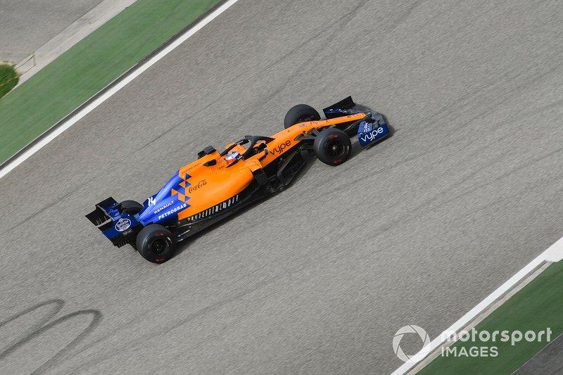 Testes com McLaren no Bahrein