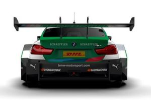 Decoración Marco Wittmann, BMW Team RMG, BMW M4 DTM