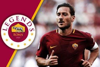 Francesco Totti, Roma Legends