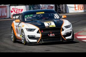 Practice 2 Leader Drew Staveley, Ian Lacy Racing, Ford Mustang GT4
