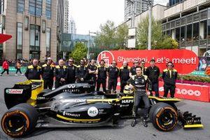 Guanyu Zhou, Renault F1 Team, en het Renault F1 team