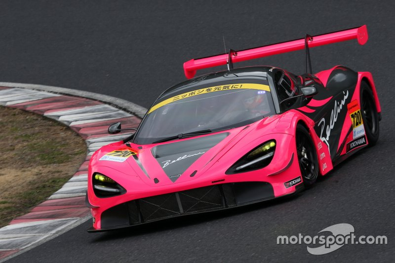 #720 McLaren Customer Racing Japan McLaren 720S GT3: Seiji Ara, Alex Palou