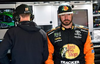 Martin Truex Jr., Joe Gibbs Racing, Toyota Camry Bass Pro Shops and Cole Pearn