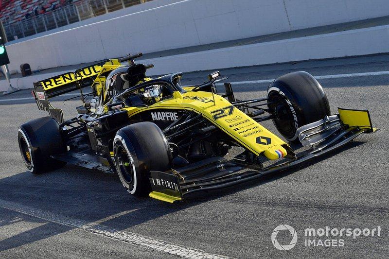 Nico Hulkenberg, da Renault, ficou no sexto posto