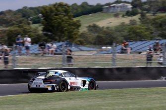 #77 Mercedes-AMG Team Craft Bamboo Black Falcon Mercedes AMG GT GT3: Maro Engel, Luca Stolz, Gary Paffett
