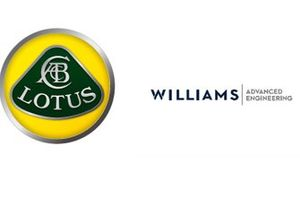 Lotus and Williams logos