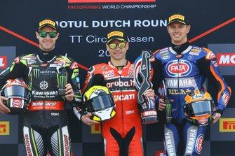 Джонатан Рей, Kawasaki Racing, Альваро Баутіста, Aruba.it Racing-Ducati Team, Міхаел ван дер Марк, Pata Yamaha