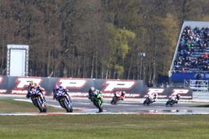 Michael van der Mark, Pata Yamaha, Alex Lowes, Pata Yamaha, Leon Haslam, Kawasaki Racing
