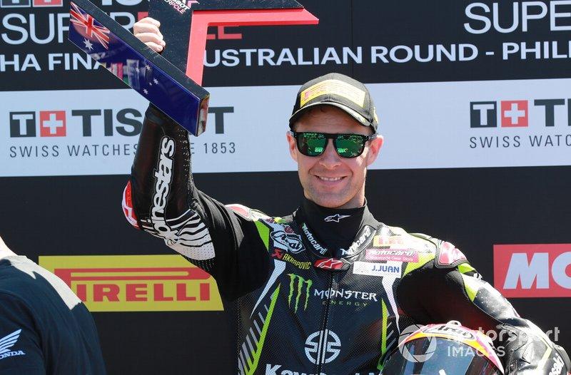 Володар поул-позиції Джонатан Рей, Kawasaki Racing