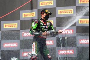 Podium: third place Alex Lowes, Kawasaki Racing Team