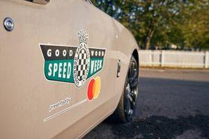 Goodwood Speedweek decal on a Rolls-Royce