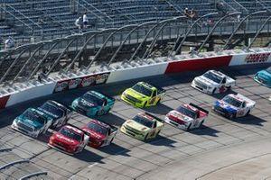 Brett Moffitt, GMS Racing, Chevrolet Silverado GMS Fabrication Austin Hill, Hattori Racing Enterprises, Toyota Tundra Gunma Toyopet