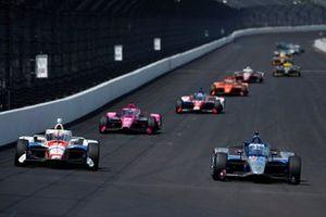 Graham Rahal, Rahal Letterman Lanigan Racing Honda, Ben Hanley, DragonSpeed USA Chevrolet