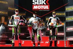 Scott Deroue, MTM Kawasaki Motoport, Scott Deroue, MTM Kawasaki Motoport, Jeffery Buis, MTM Kawasaki Motoport