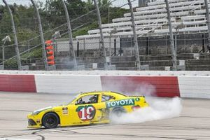 Race Winner Brandon Jones, Joe Gibbs Racing, Toyota Supra