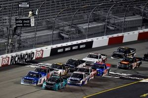 Ben Rhodes, ThorSport Racing, Ford F-150 Tendam and Austin Hill, Hattori Racing Enterprises, Toyota Tundra United Rentals