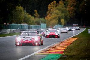 #22 Frikadelli Racing Team Porsche 911 GT3-R: Jörg Bergmeister, Frederic Makowiecki, Dennis Olsen