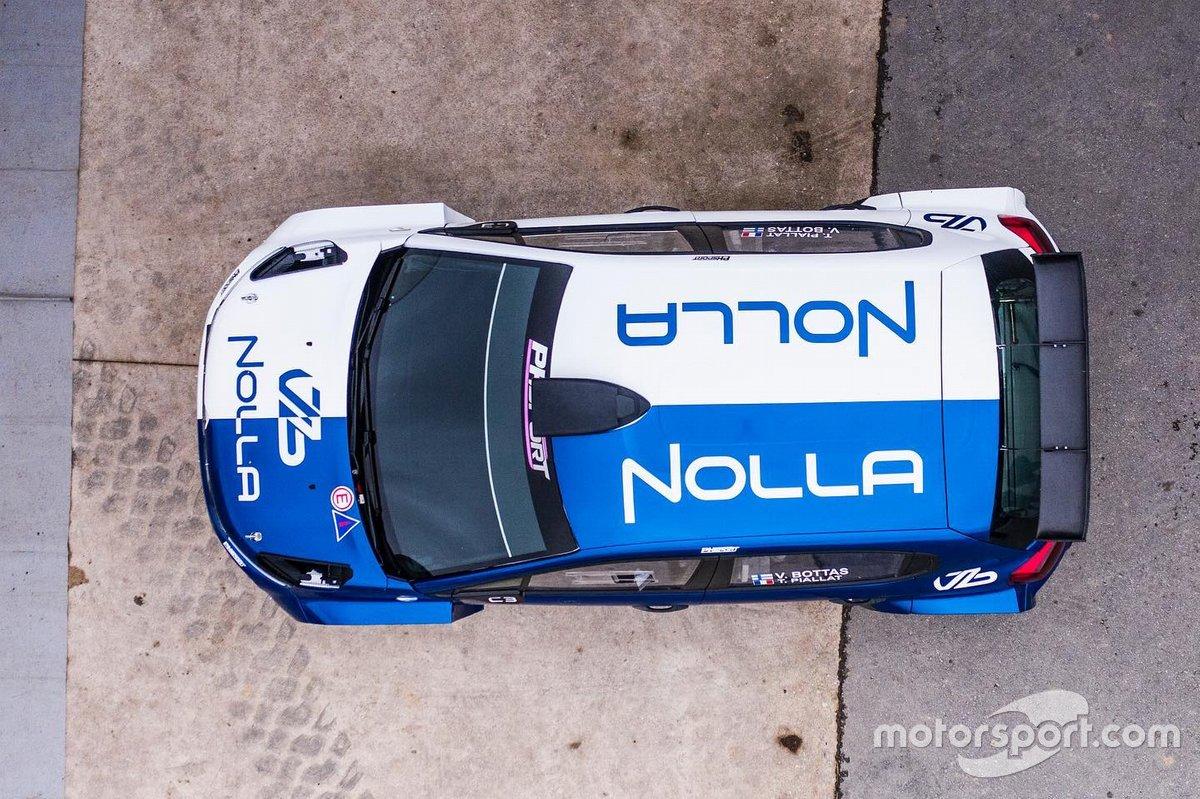 Valtteri Bottas, PH Sport probando el Citroën R5