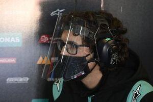 Petronas Yamaha team member