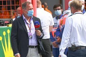 Martin Brundle, Sky TV, Simon Lazenby, Sky TV