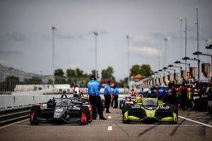 Ed Carpenter, Ed Carpenter Racing Chevrolet, Charlie Kimball, A.J. Foyt Enterprises Chevrolet