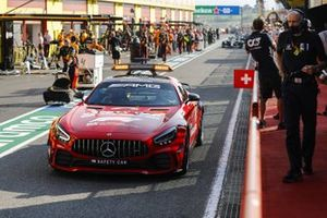 Safety Car, Lewis Hamilton, Mercedes F1 W11