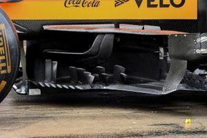 McLaren MCL35 deflectors detail