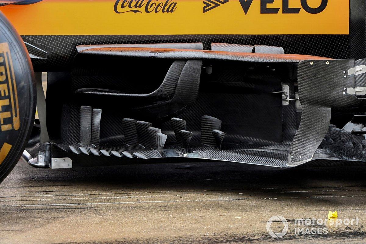 McLaren MCL35 deflector detail