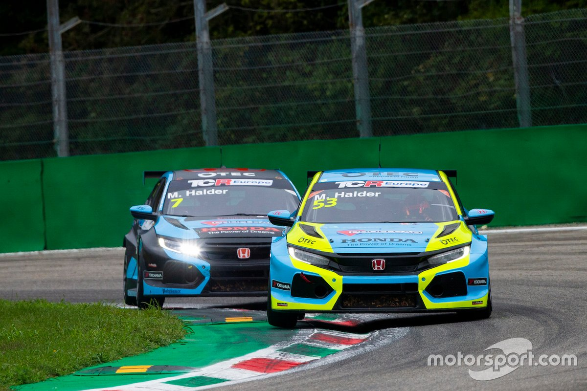 Mike Halder, e Michelle Hadler, Profi Car Team Halder, Honda Civic Type R FK7 TCR