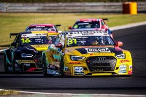 Tom Coronel, Comtoyou DHL Team Audi Sport Audi RS3 LMS, Gilles Magnus, Comtoyou Racing Audi RS3 LMS