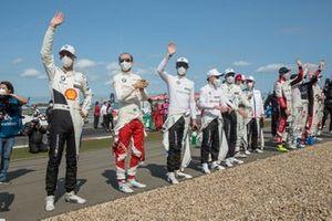 Sheldon van der Linde, BMW Team RBM, Robert Kubica, Orlen Team ART, Marco Wittmann, BMW Team RMG, Lucas Auer, BMW Team RMG