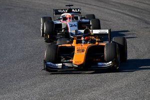 Jack Aitken, Campos Racing, devance Nikita Mazepin, Hitech Grand Prix