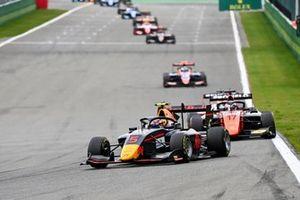 Liam Lawson, Hitech Grand Prix and Richard Verschoor, MP Motorsport